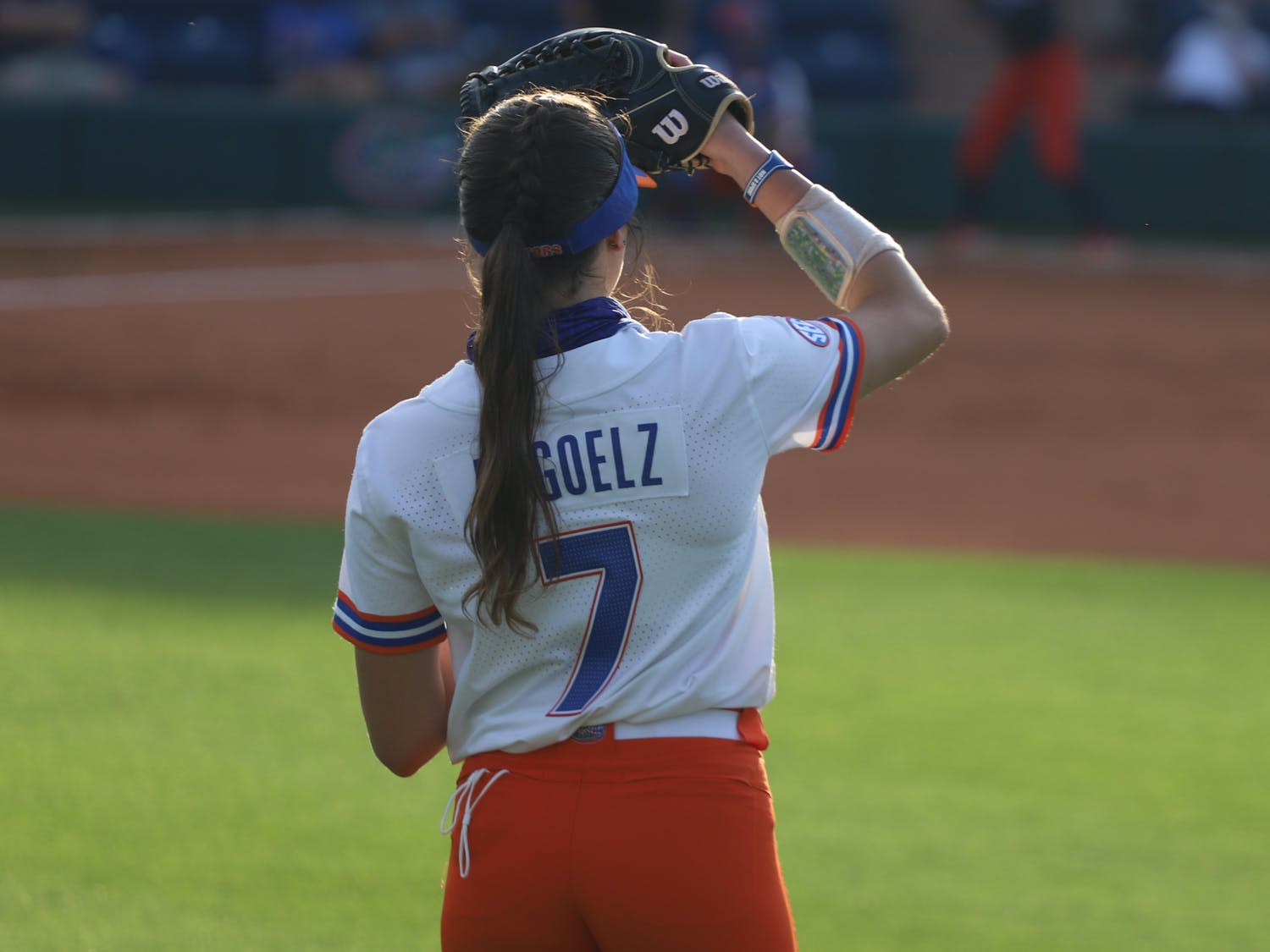 Former Gators Michelle Moultrie, Aubree Munro and Kelsey Stewart reappeared in Gainesville with the national team Tuesday.