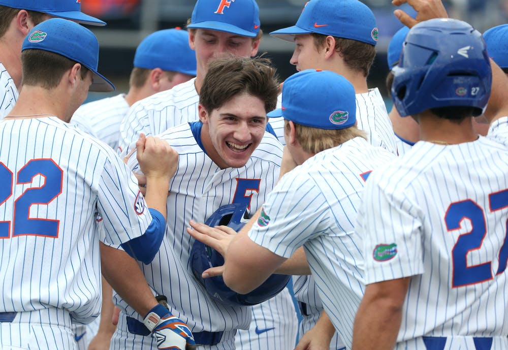 The Gators were ranked No. 1in preseason rankings for the third time. Photo from Gators-Winthrop Eagles in March 2019.