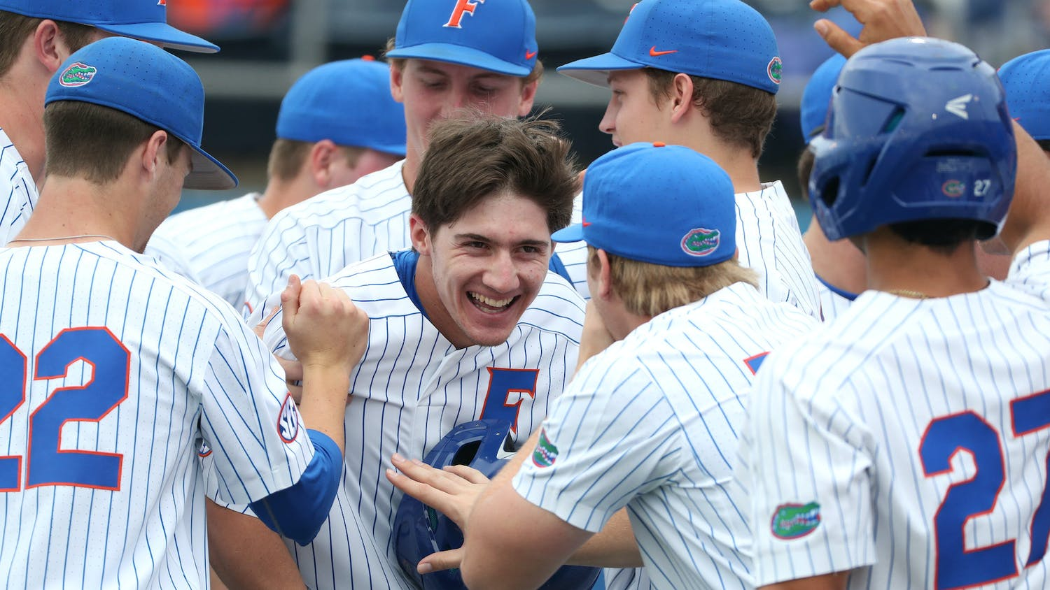 Jacob Young extended his hitting streak to 24 as UF defeated Sanford 8-4.