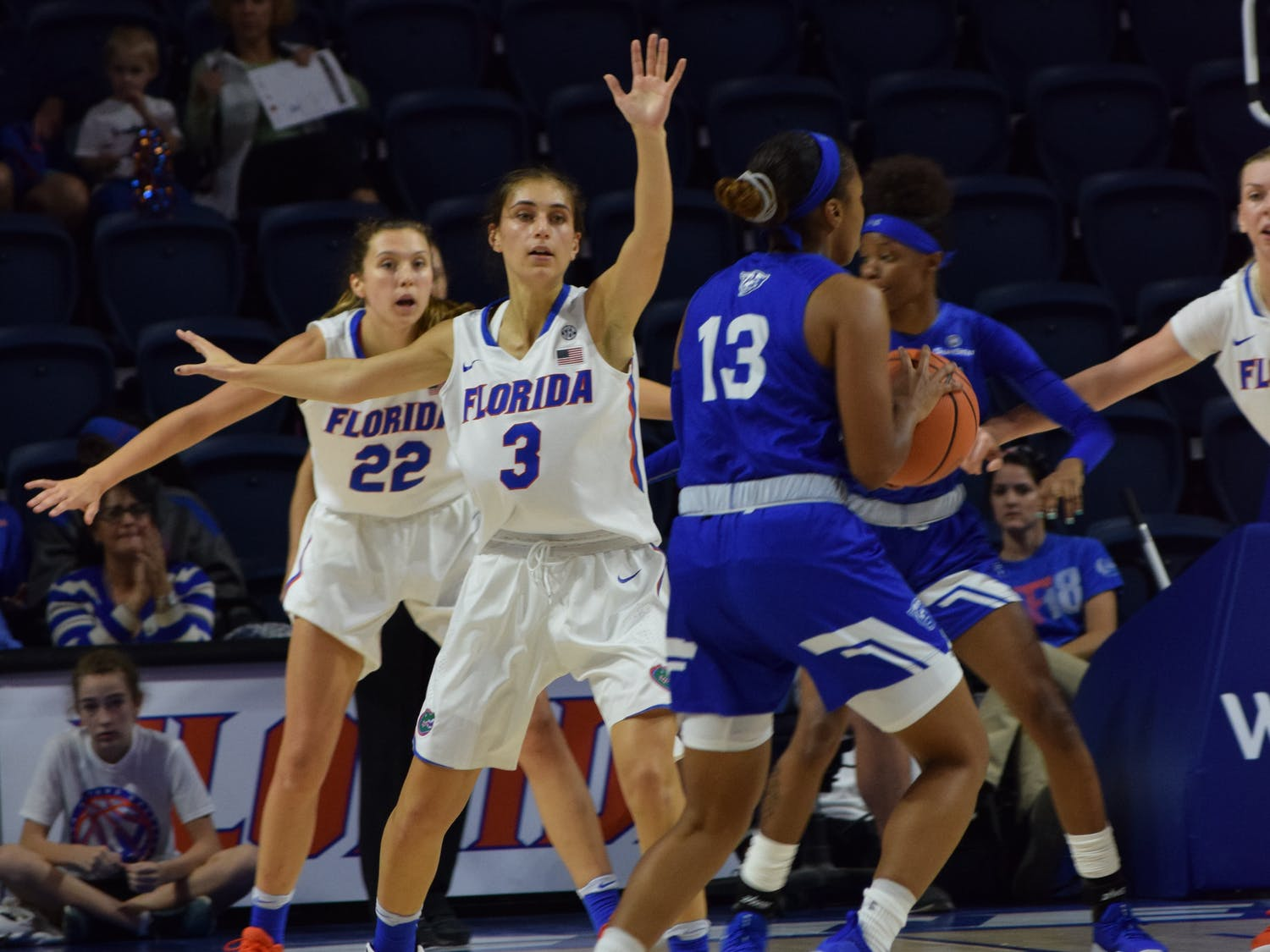 A scoring run between the second and third quarters served as the catalyst the Gators' offense needed as they ran away with the game, beating Georgia State 82-66.