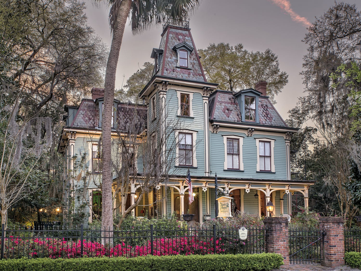 Magnolia Plantation is the bedrock of Gainesville's bed-and-breakfast district.