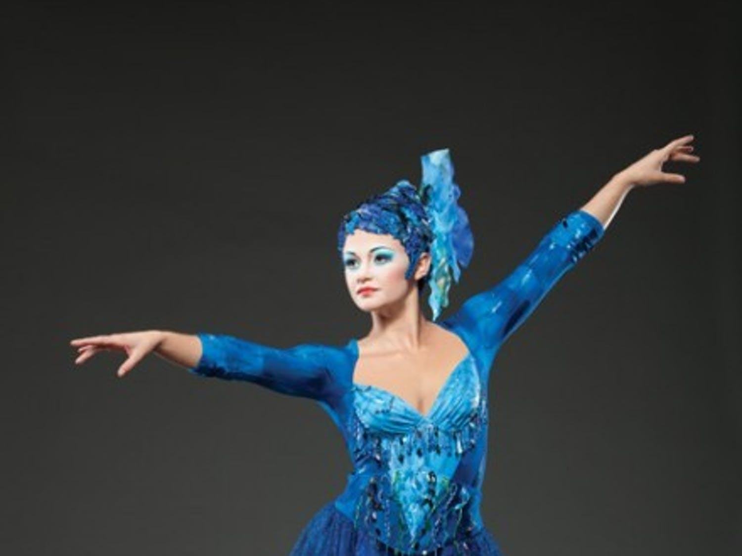 """Amanda Orozco, 22, of Orlando, poses in a promotional photo for the Cirque du Soleil show """"Dralion."""" The show is coming to the Stephen C. O'Connell Oct. 11-18."""