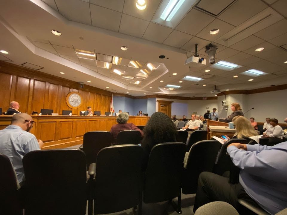City Commission emergency meeting