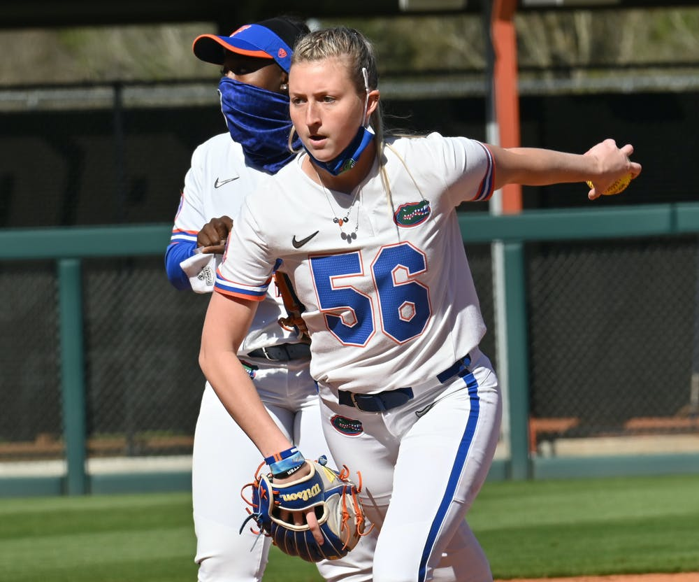 No. 5 Florida looks to extend its winning streak over the Bulls. Photo from UF-Charlotte game Feb. 20.