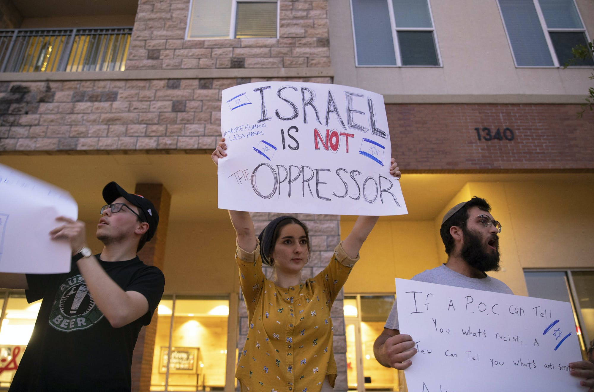 Solidarity with Palestine Counter-Protest
