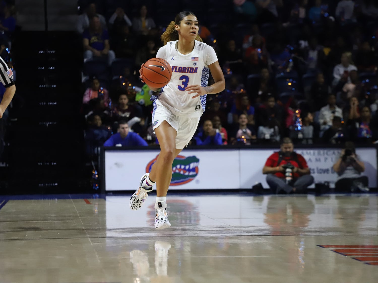 Lavender Briggs was the team's second-leading scorer with 15 points.