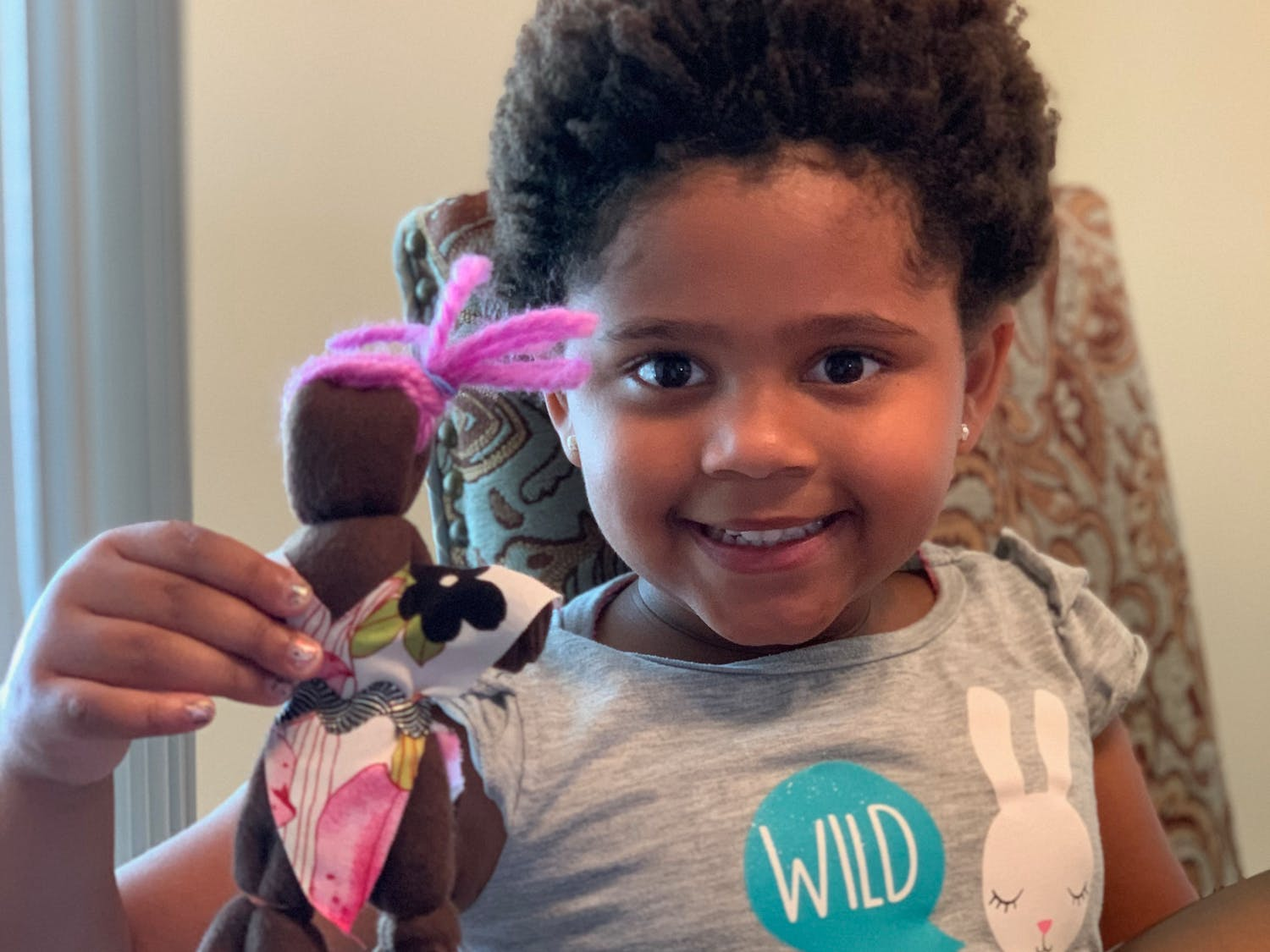 Madeline Exavier has never found a doll that looks like her. But with a Rad Doll Kit, she made her own.