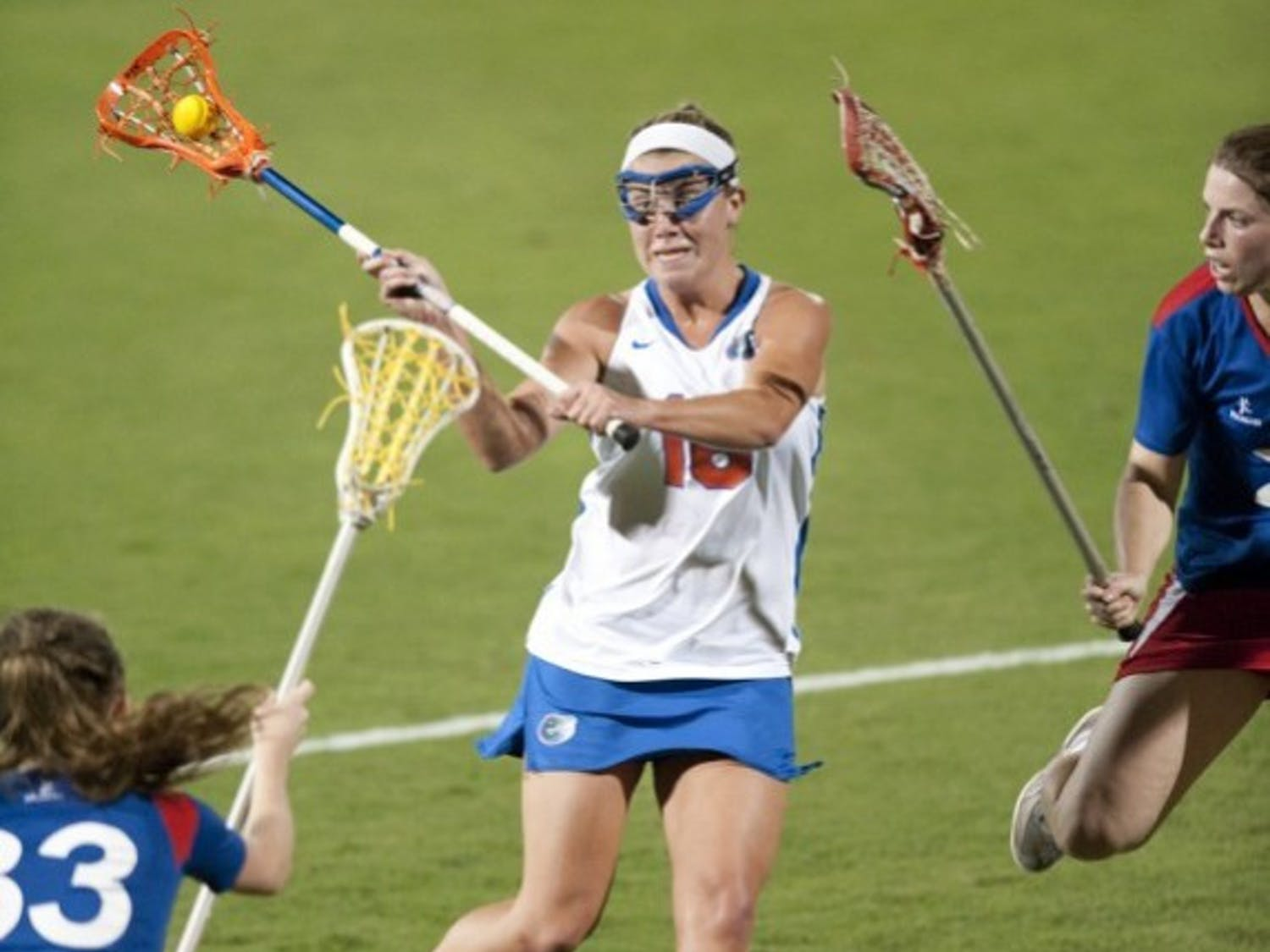 Florida freshman midfielder Nicole Graziano scored four goals in an exhibition win against England on Jan. 26, and coach Amanda O'Leary said she will play Saturday against UNC.