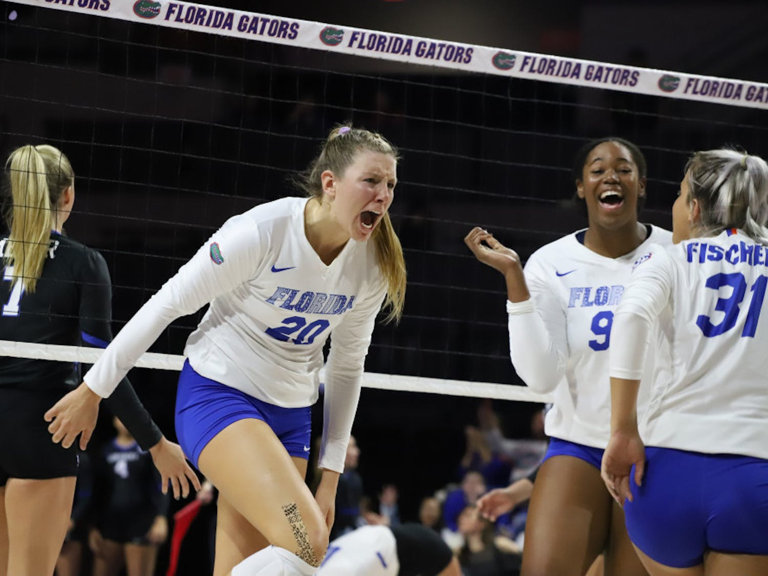 Outside hitter Thayer Hall said her team needs to respond better to pressure.