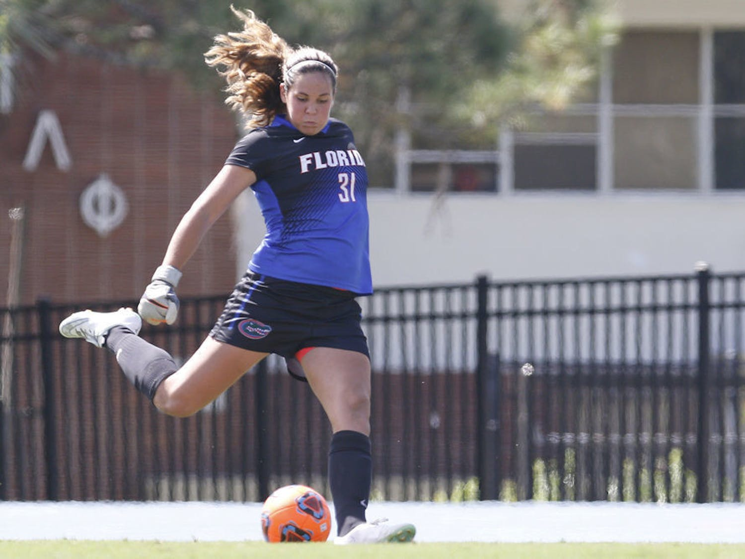 Florida goalkeeper Kaylan Marckese decided to play soccer in college rather than volleyball.