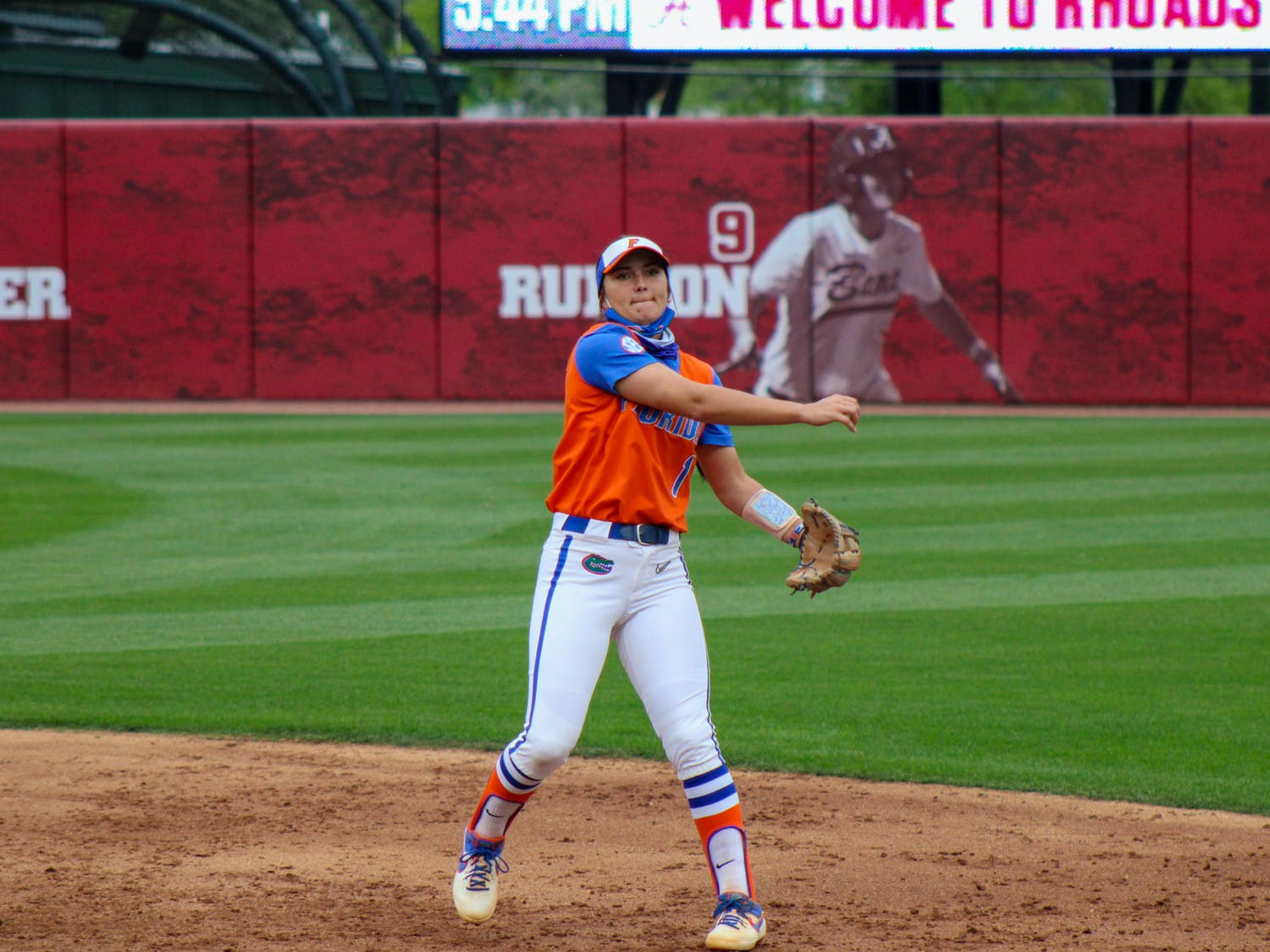 Hannah Adams came up clutch for the Gators in their 3-2 victory over Mizzou Sunday.