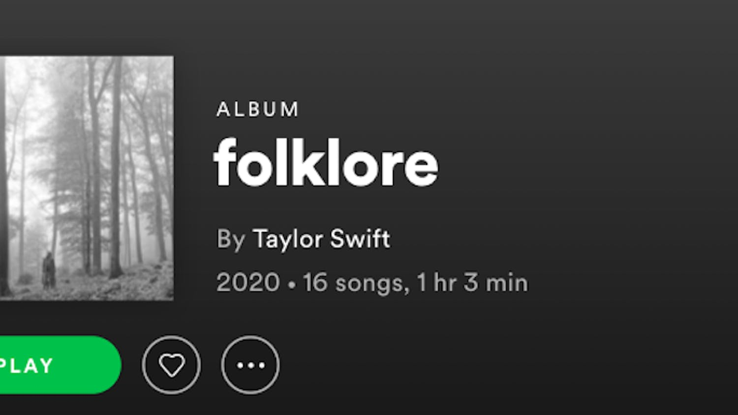 "Taylor Swift released her newest album, ""folklore,"" July 24."