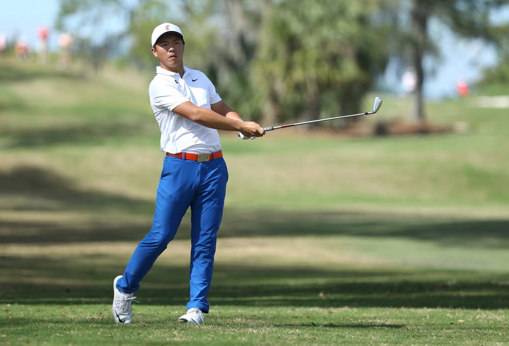 <p>Sophomore Andy Zhang finally broke through and won his first individual championship in 2018.</p>