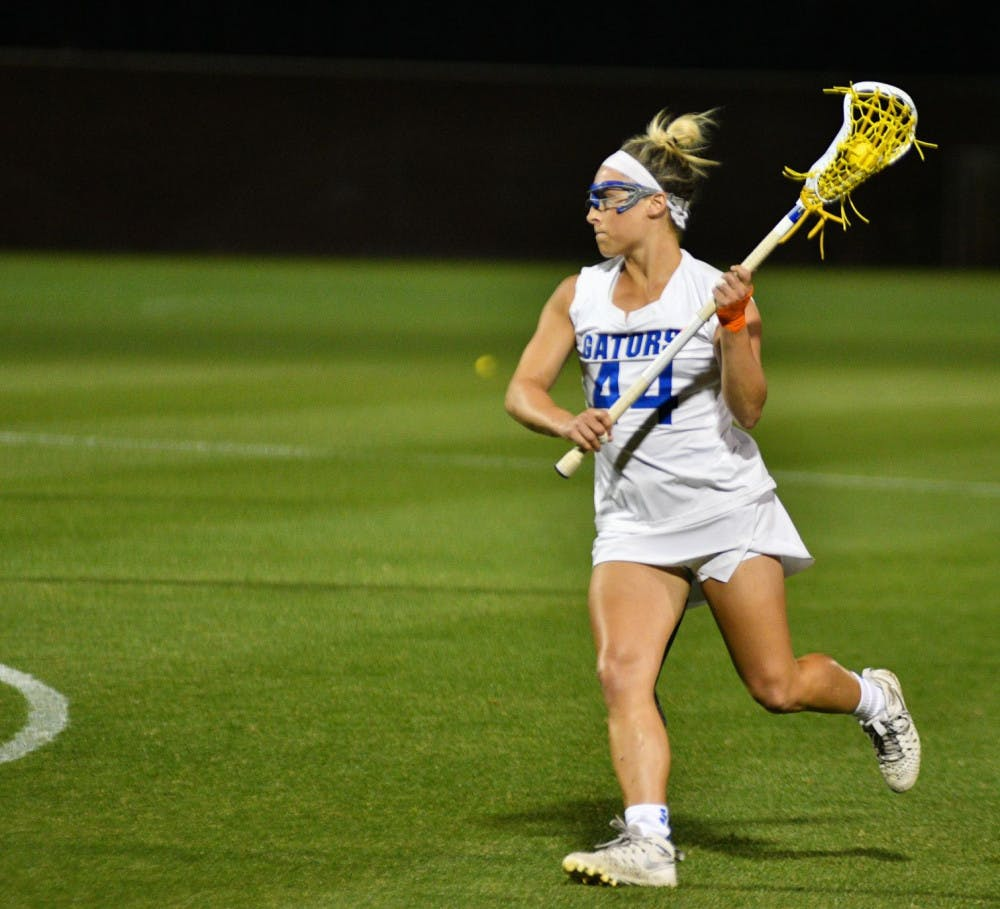 <p>UF midfielder scored just one goal in Florida's 14-13 loss to Navy in Annapolis, Maryland, on Saturday.</p>