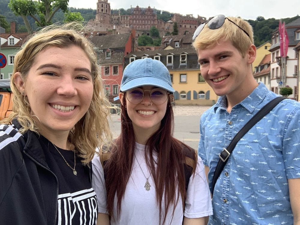 <p>Kelly Cavaliere currently studying abroad for 6 months in Germany at the Universität Mannheim.</p>