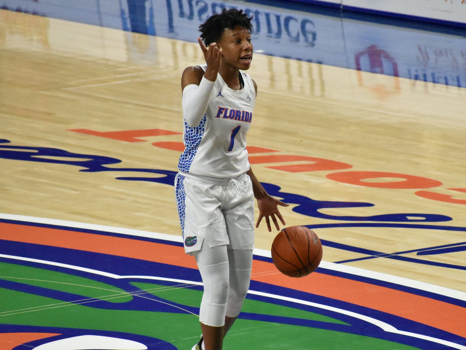 Florida guard Kiara Smith (pictured) and the Gators women's basketball team released its 2021-22 non-conference schedule Tuesday.