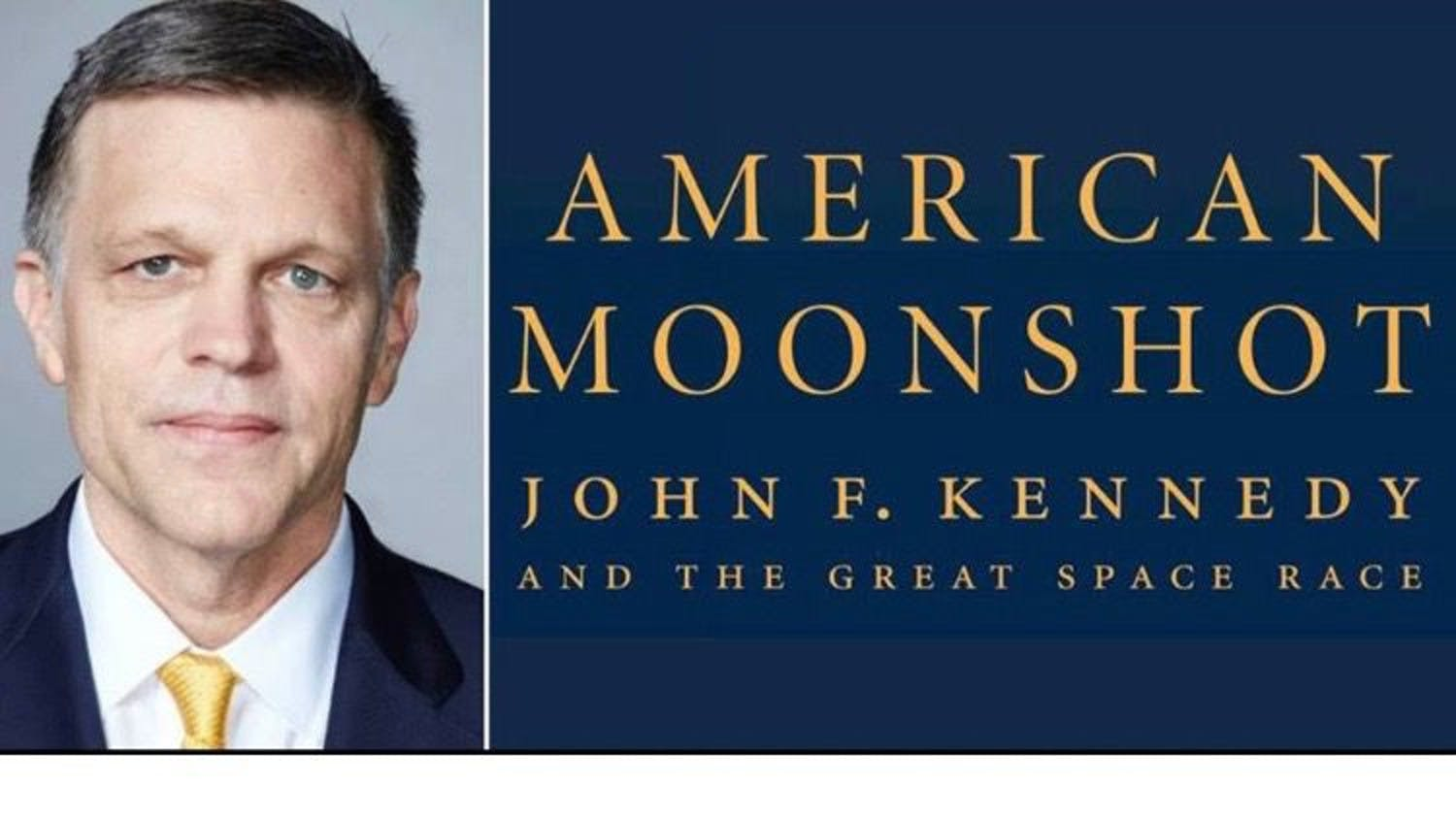 Historian and author Douglas Brinkley will speak at 6 p.m. on April 19 in the Buddy & Anne MacKay Auditorium in Pugh Hall.