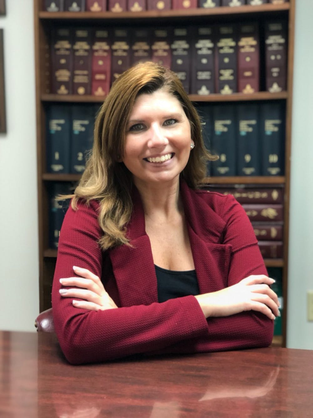 <p>Jennifer Reid, 31, of Gainesville, announced on Jan. 5 that she will run for mayor against incumbent Mayor Lauren Poe and Jenn Powell. Courtesy to The Alligator.</p>