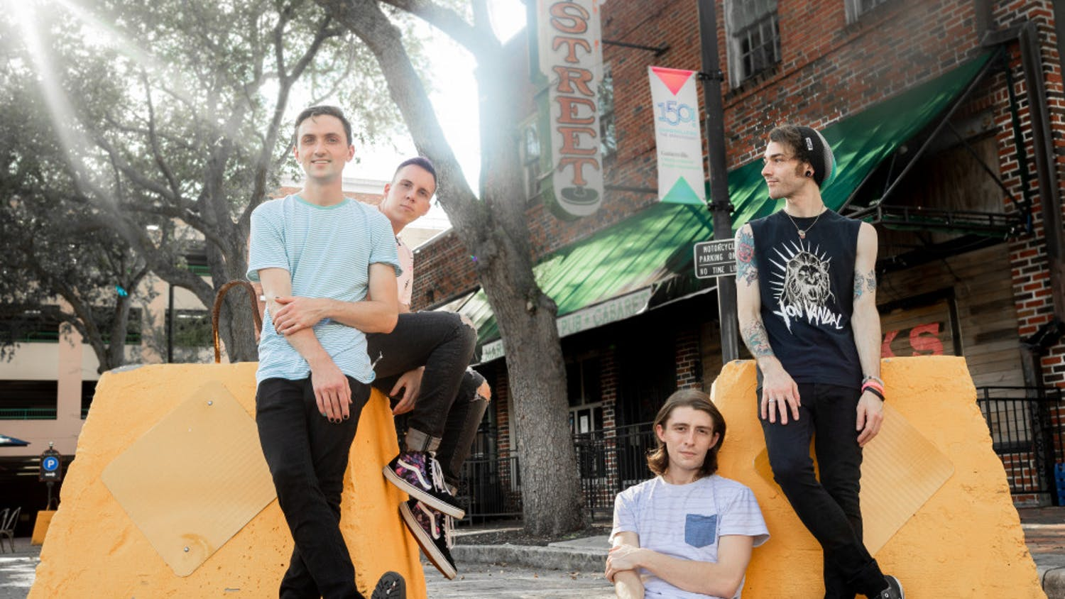 """The Gainesville quartet Arrows in Action is set to release their newest single, """"Honey,"""" Tuesday."""