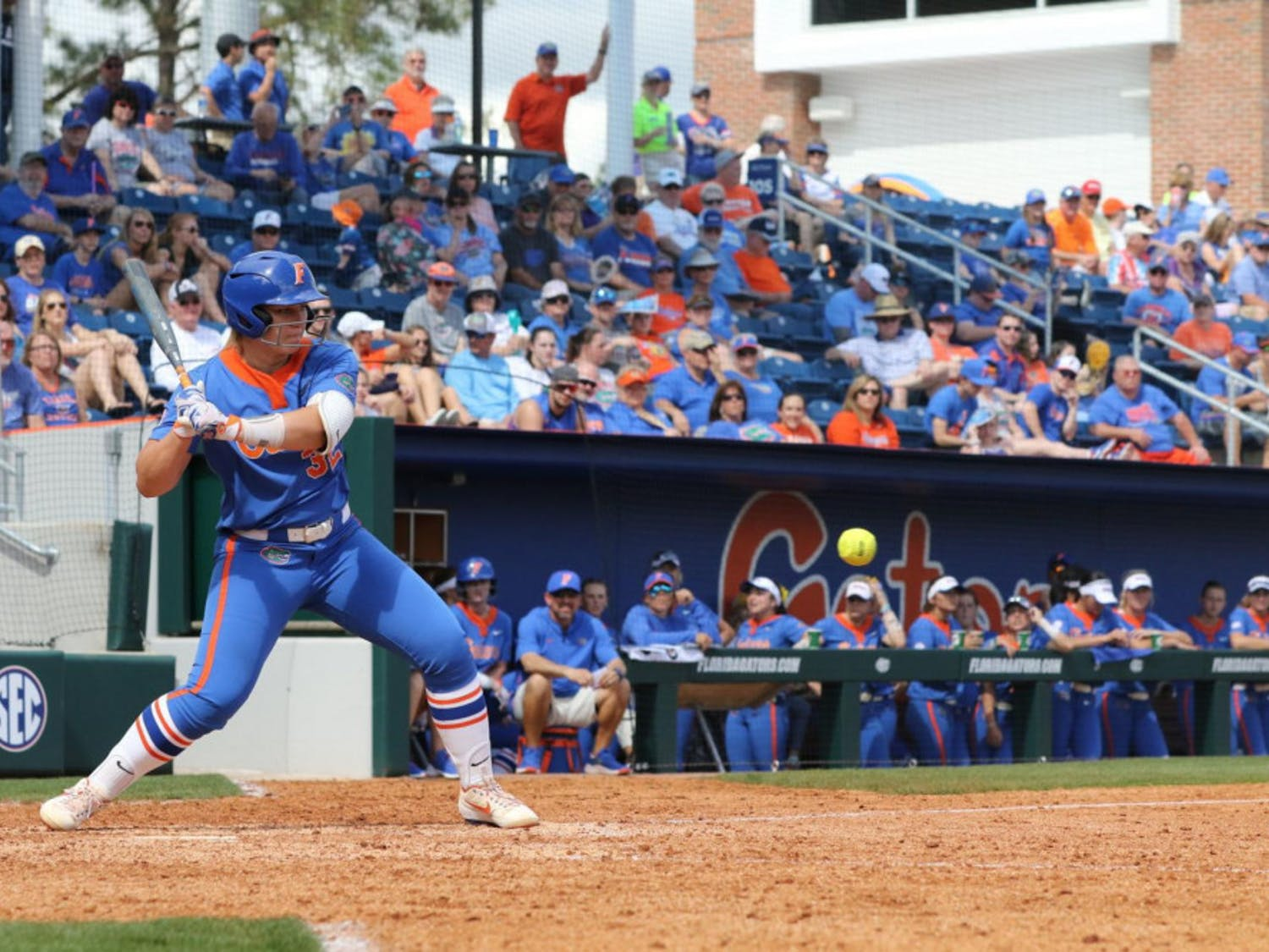 Catcher Kendyl Lindaman batted in a run in the bottom of the fifth inning to help UF defeat the Boston University Terriers on Friday.