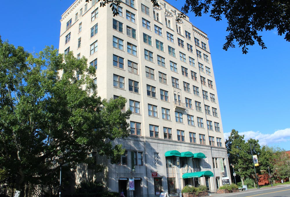 The Seagle Building is seen on Sunday, Sept. 26, 2021.
