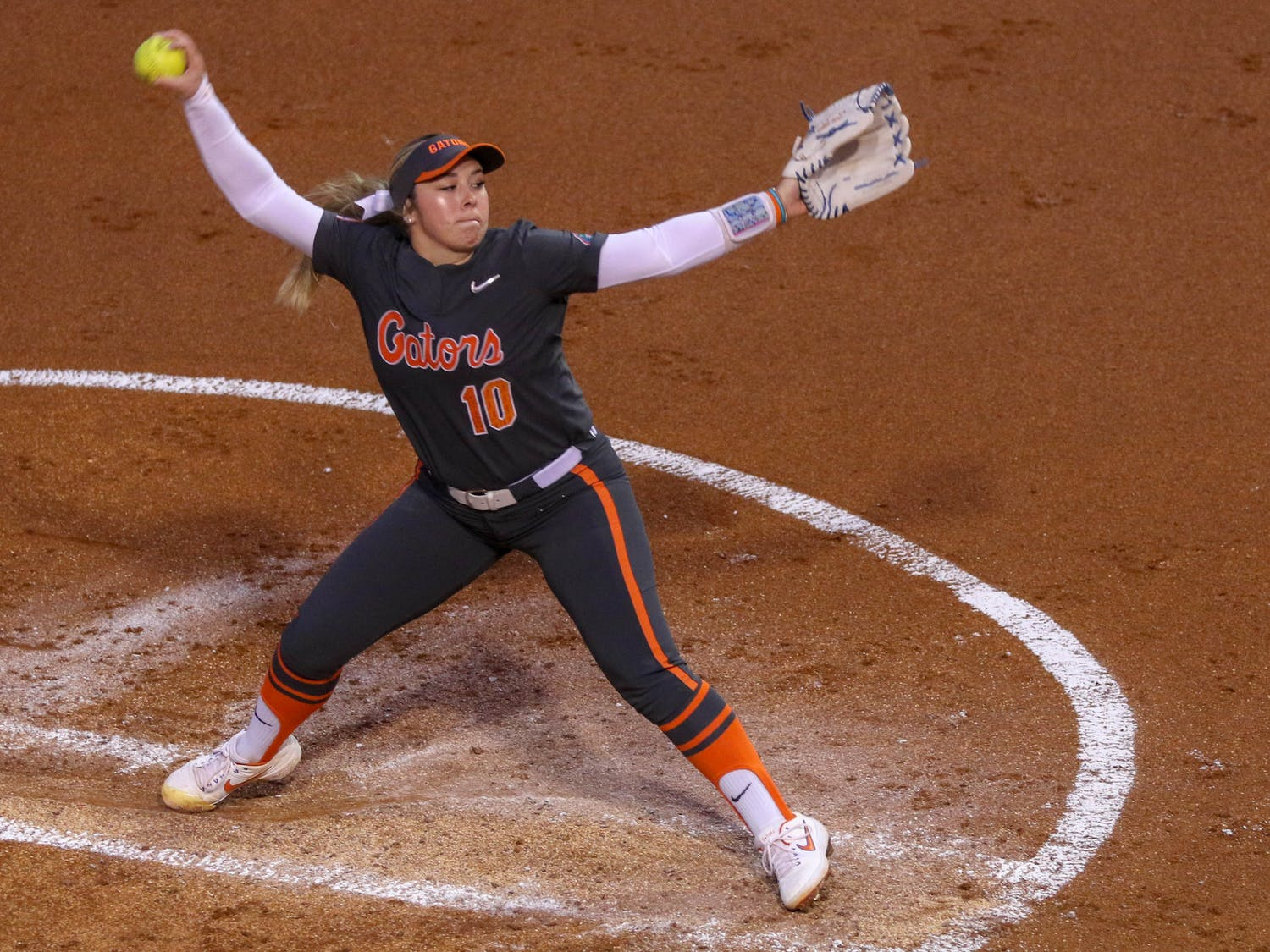 Natalie Lugo tallied 22 strikeouts over the weekend.