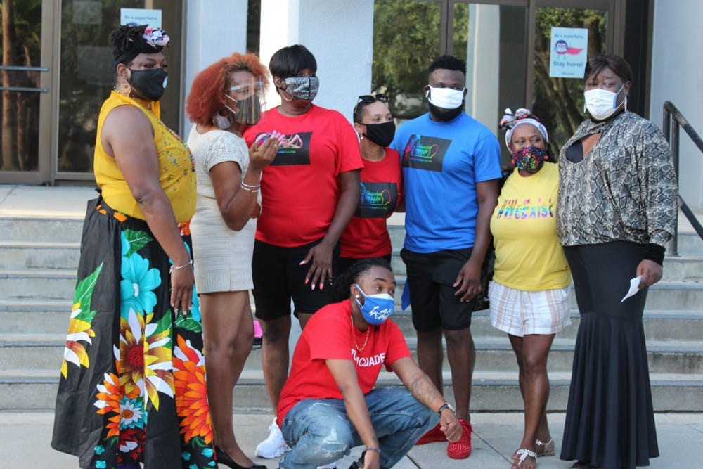 <p>At the end of the vigil, a proclamation from Mayor Lauren Poe was read which named July 20, 2020 as the Black Lives Matter Trans Inclusive Movement Day in the CIty of Gainesville.</p>