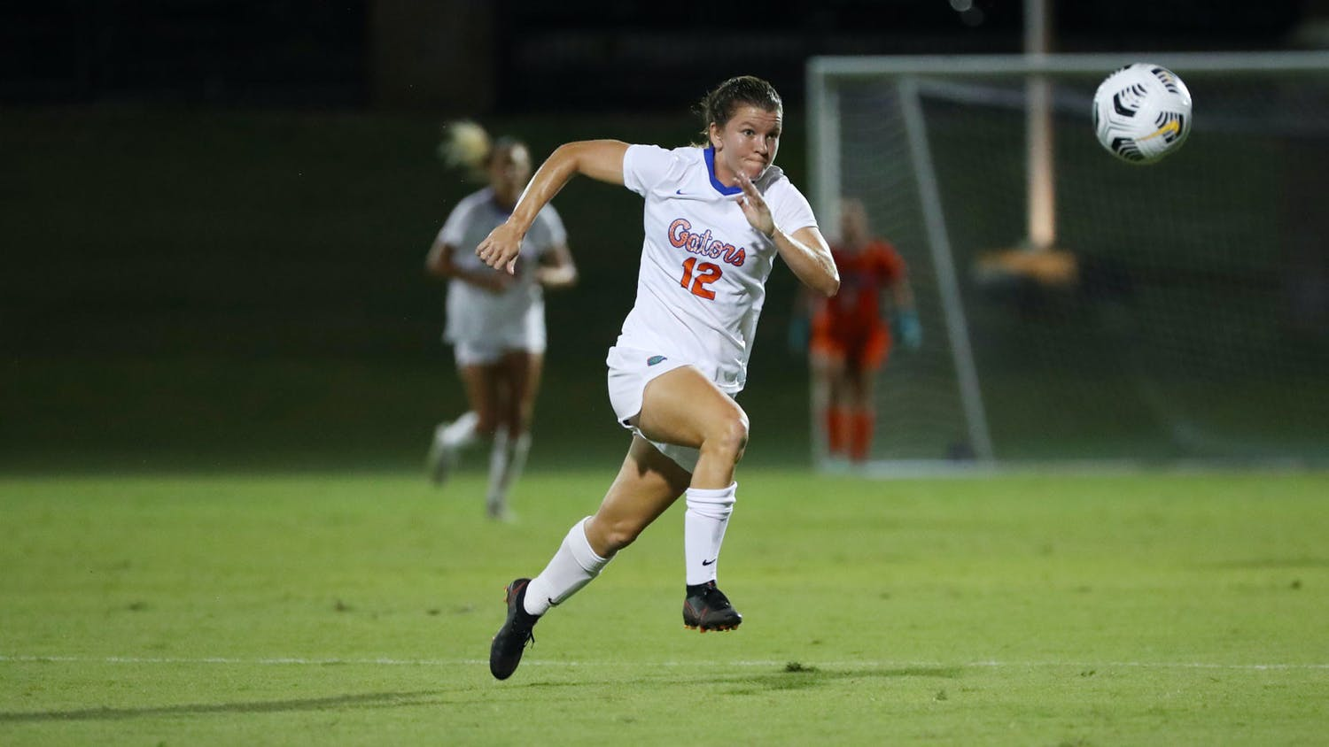 Florida sophomore Maddy Rhodes photographed during a game against Kentucky on Sept. 23.