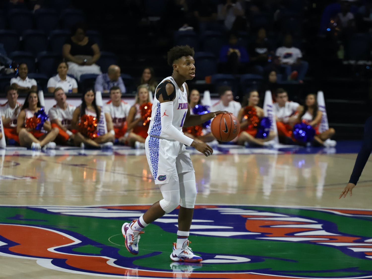 Florida guard Kiara Smith scored 19 points in 35 minutes of the Gators' win over Cincinnati Saturday.