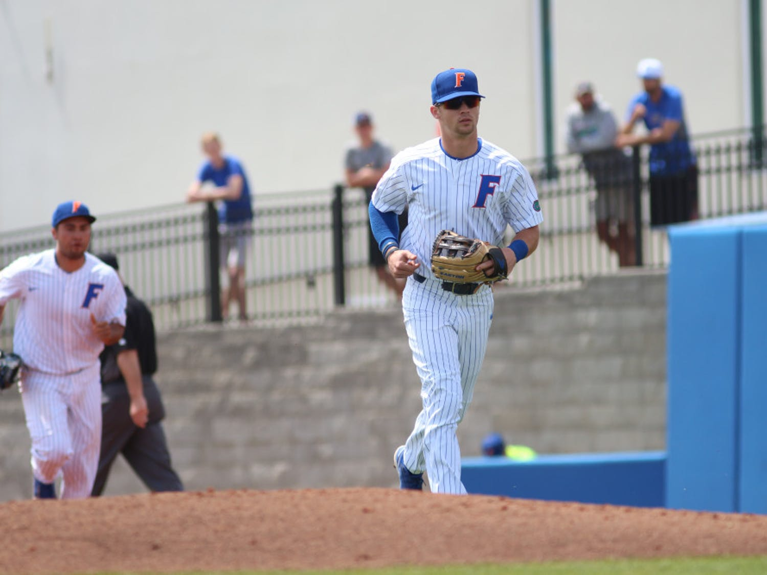 Right fielder Wil Dalton went 4 for 5 on Friday in Florida's 13-5 win over Columbia at the Gainesville Regional. He nearly hit the cycle but was thrown out sliding into third base.