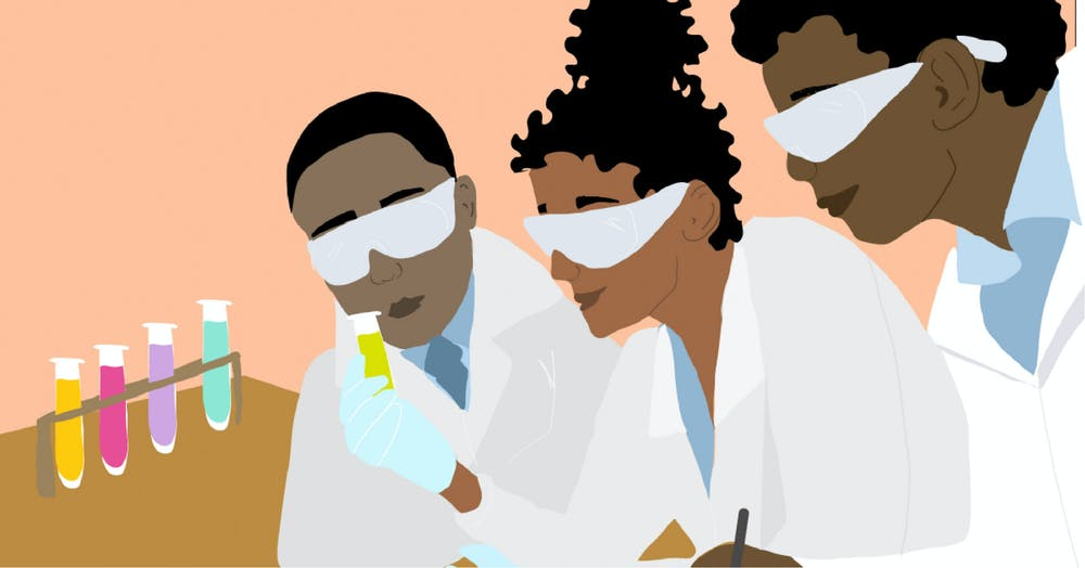 Graphic of Black researchers