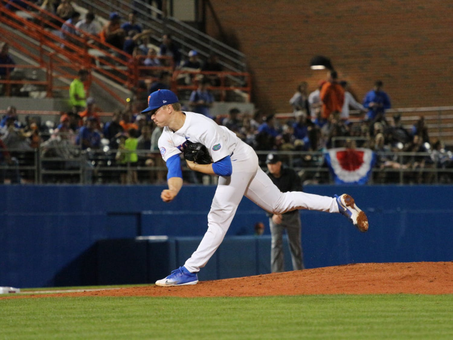 UF starting pitcher Brady Singer picked up the win in his final home game as a Gator. The junior was drafted 18th overall by the Kansas City Royals in the MLB Draft on Monday.