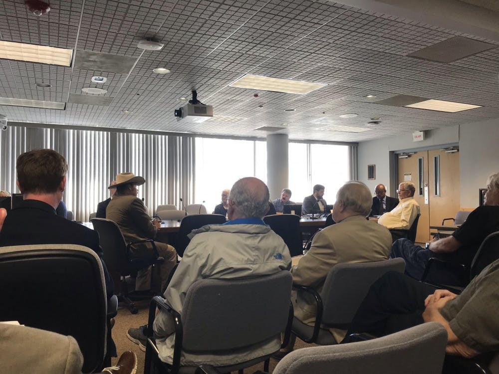 <p><span>Chris Rose opposes the plastic ban and offered other options to the Alachua County Commission during its meeting on Tuesday.</span></p>