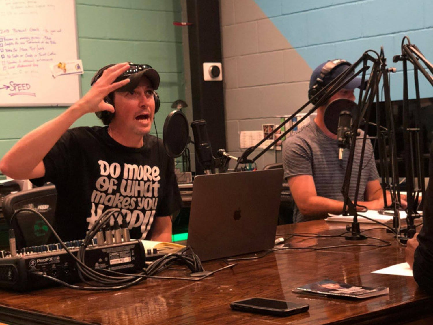 """Founder and one of the """"WHOA GNV"""" podcast hosts, Collin Austin, said working on the podcast is one of his favorite parts of the week."""