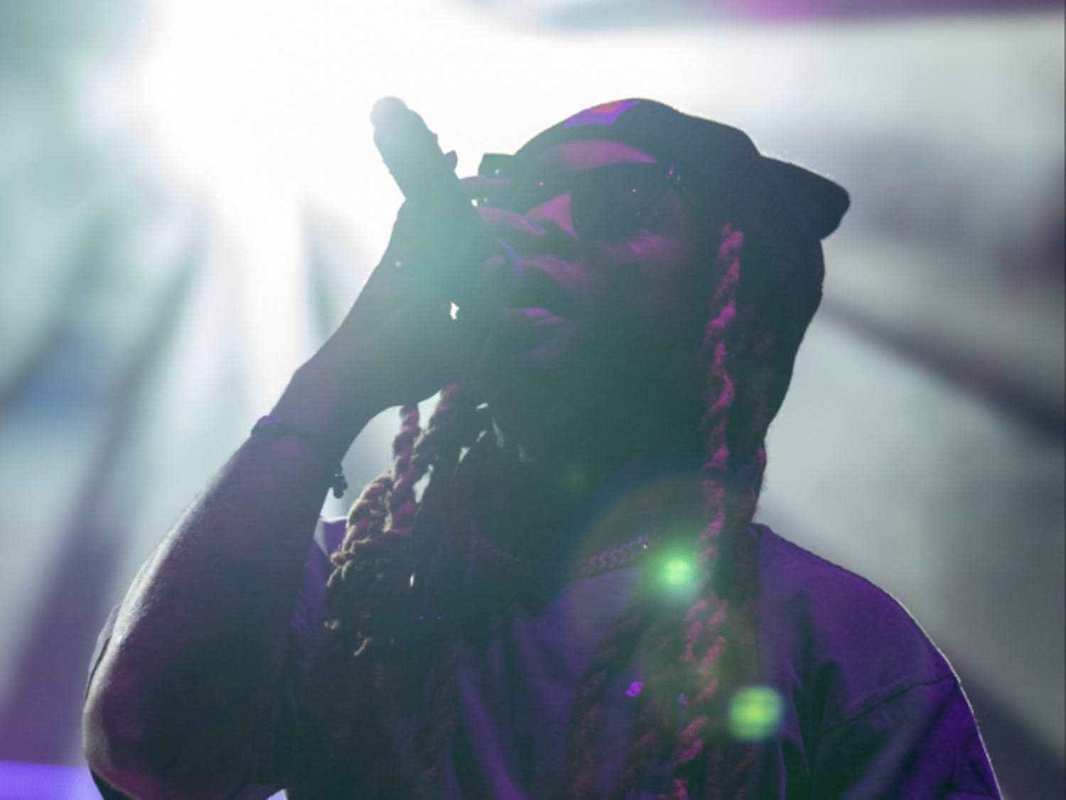 Los Angeles-based rapper Ty Dolla $ign, an artist in Wiz Khalifa's label Taylor Gang Entertainment, puts on a show for students at Gator Growl 2018. The concert, which was held on Flavet Field, capped off UF homecoming celebrations and also featured alternative rock band Walk The Moon. Read the story here.