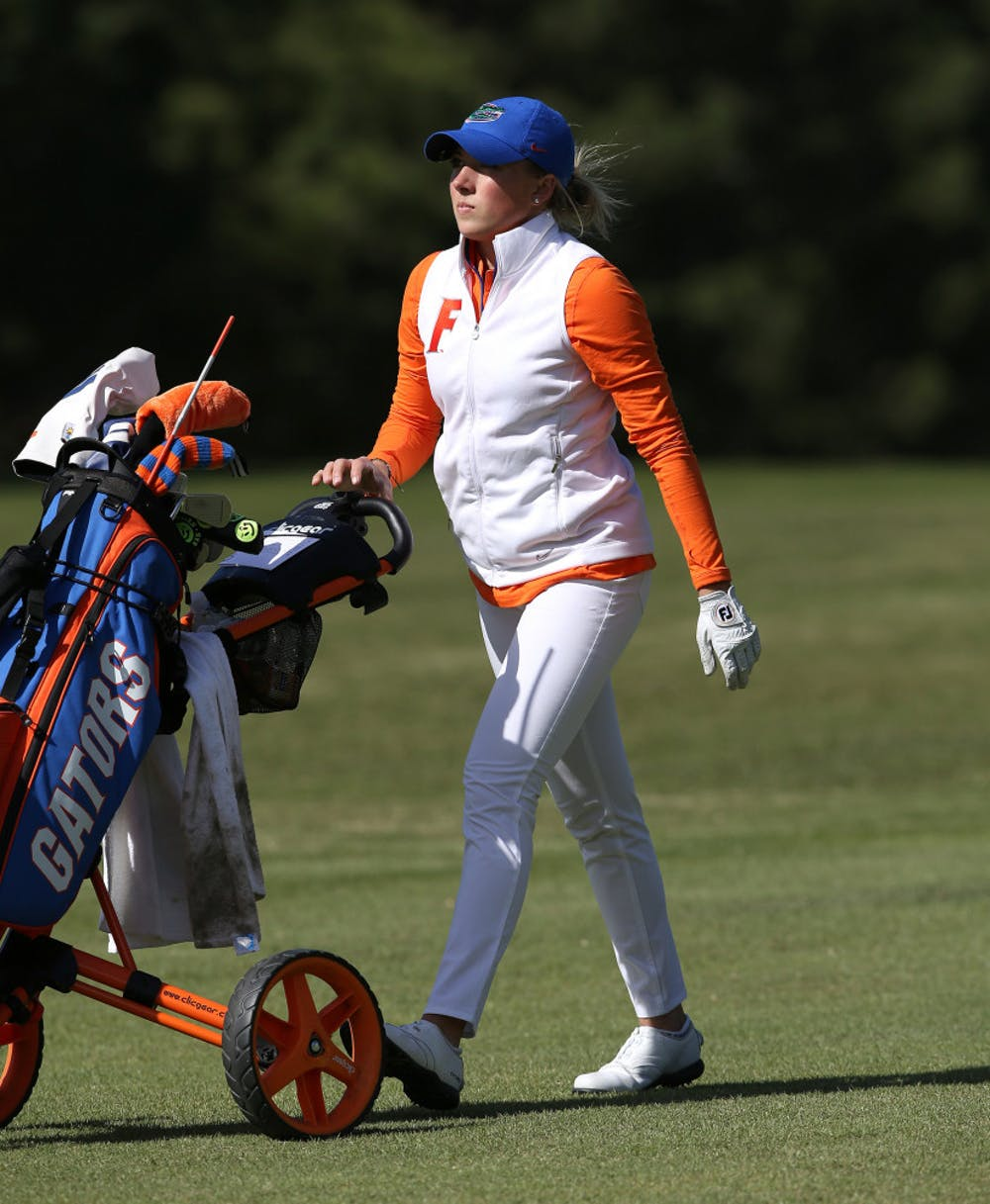 <p>Sophomore Sierra Brooks performed admirably, but the Gators struggled as a team on Day 1 of the Liz Murphey Collegiate Classic.</p>