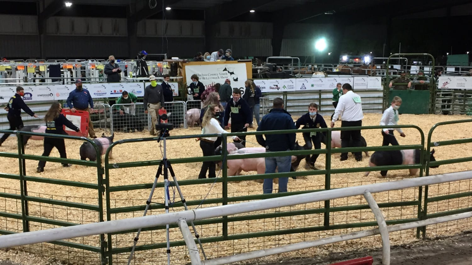 The annual event, previously held in Gainesville, was hosted at the Alachua County Agricultural and Equestrian Center in Newberry for the first time this year.