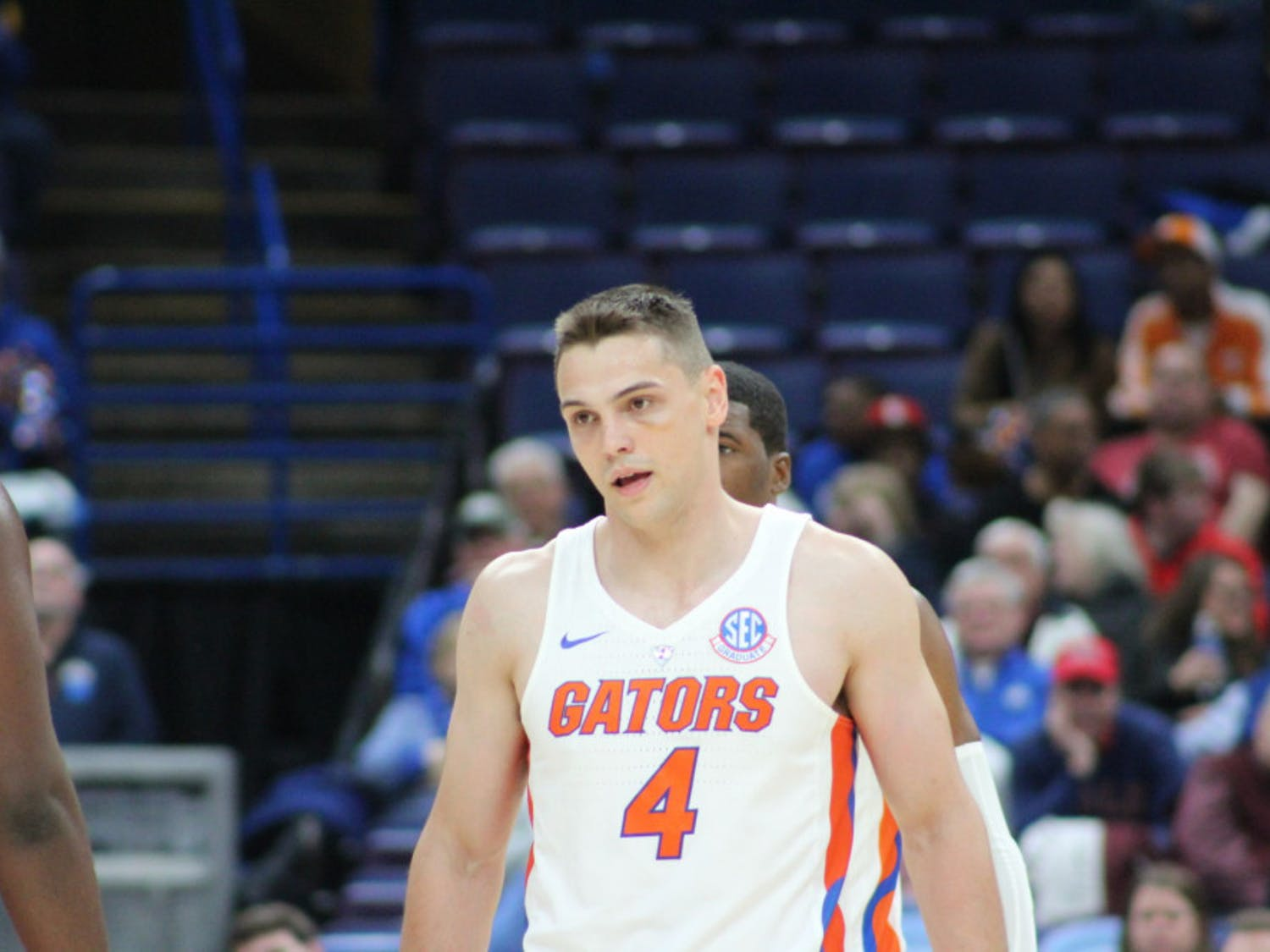 Guard Egor Koulechov ended his only season at Florida as the second-leading scorer with 13.8 points per game.
