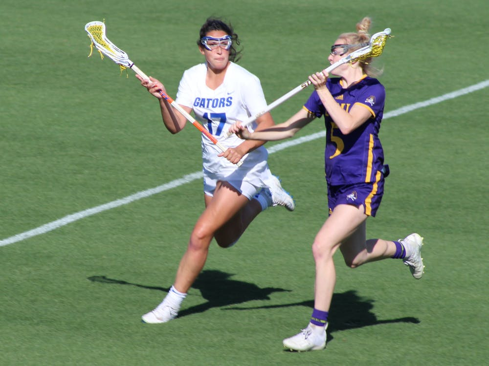 Shannon Kavanagh helped lead the Gators offensively to a 20-9 victory Thursday.