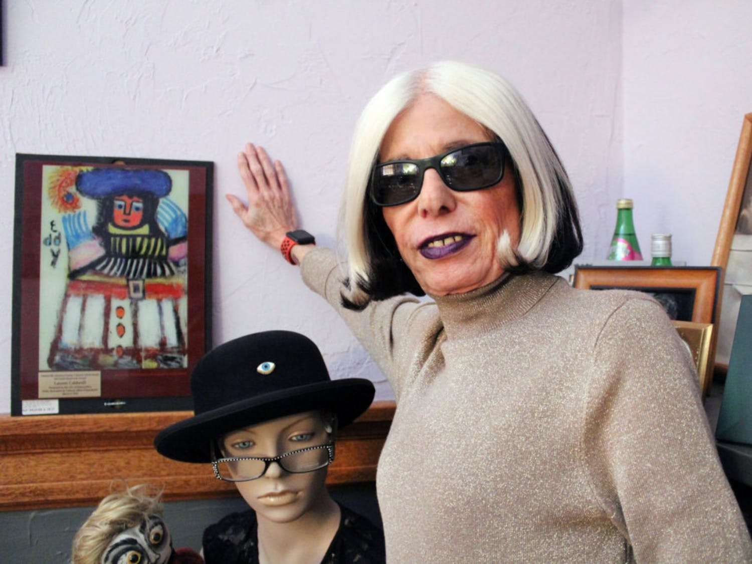 Lauren Warhol Caldwell called The Hippodrome Theatre home since she started as an actress there in 1988 as a student pUrsuline her Masters in Fine Arts.