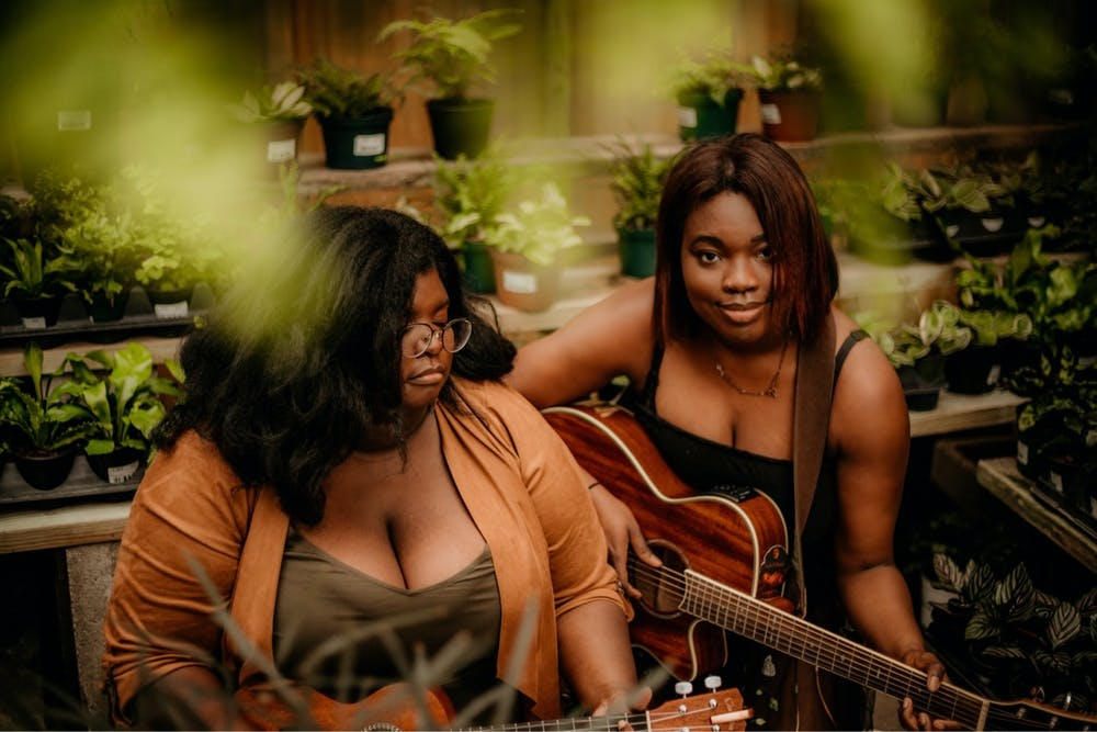 Sister-musician duo Faith & Majesty Smith moved to Gainesville in 2019 and recently signed to local music label Swamp Records.