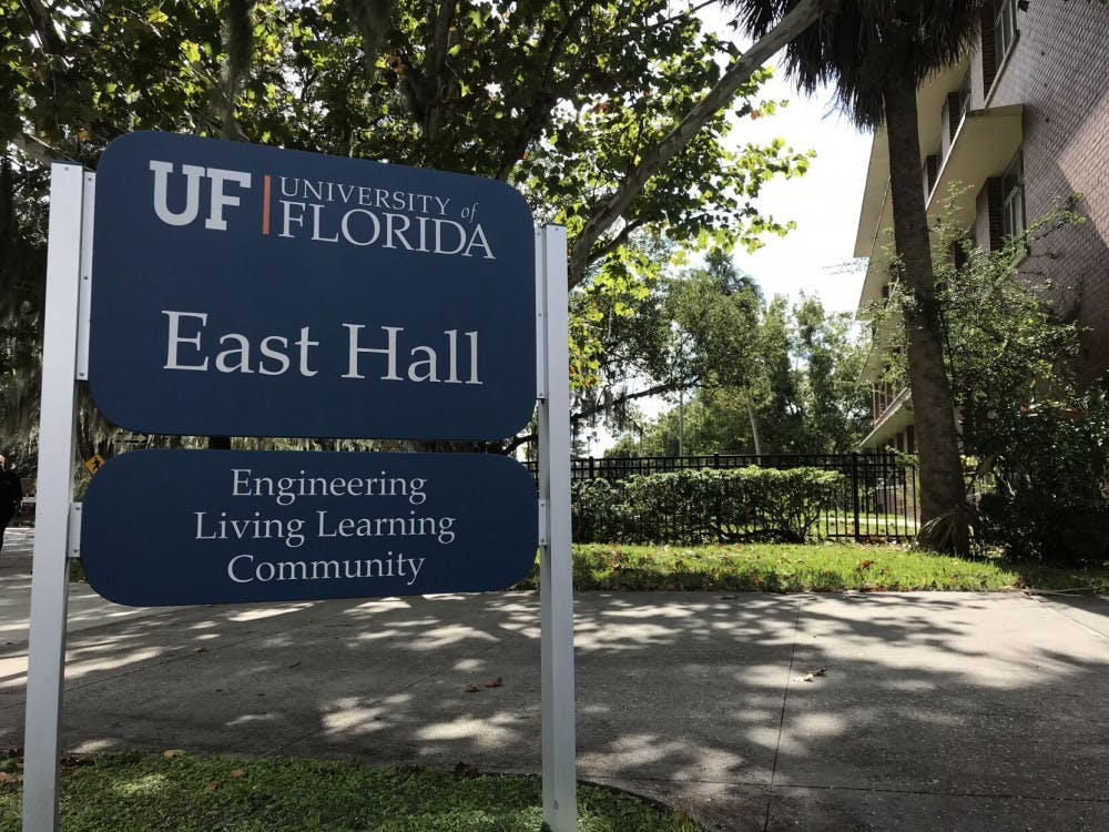 Picture of East Hall sign