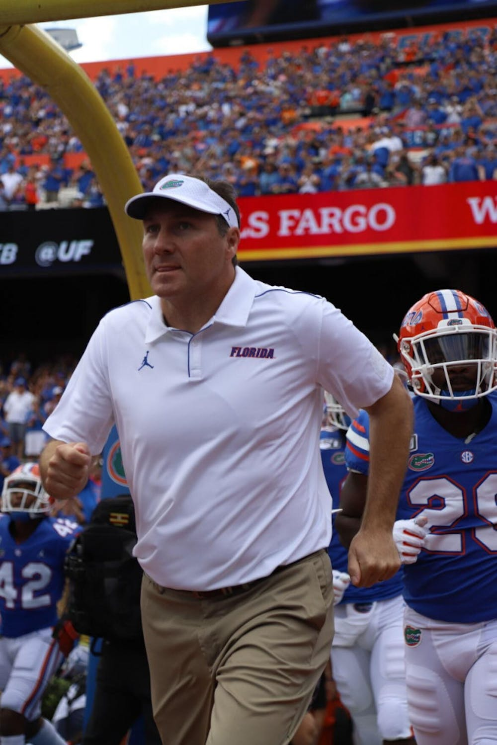 <p>Mullen admitted fault on a recruiting violation and a failure to comply with NCAA investigations.</p>