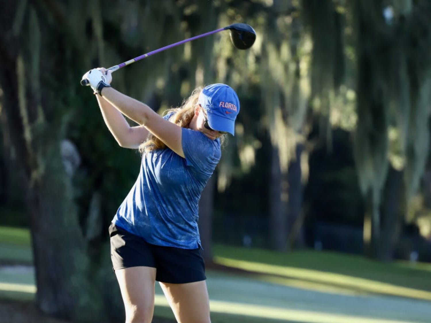 Addie Baggarly (pictured) and Annabell Fuller will tee-off at the Augusta National Women's Amateur Wednesday..