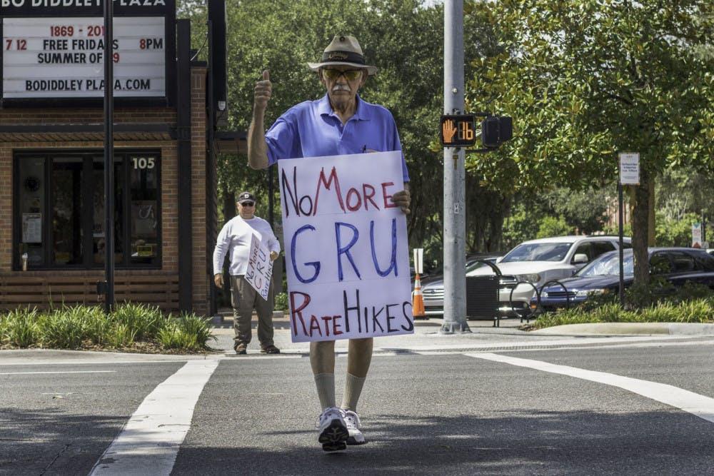 GRU protest 1