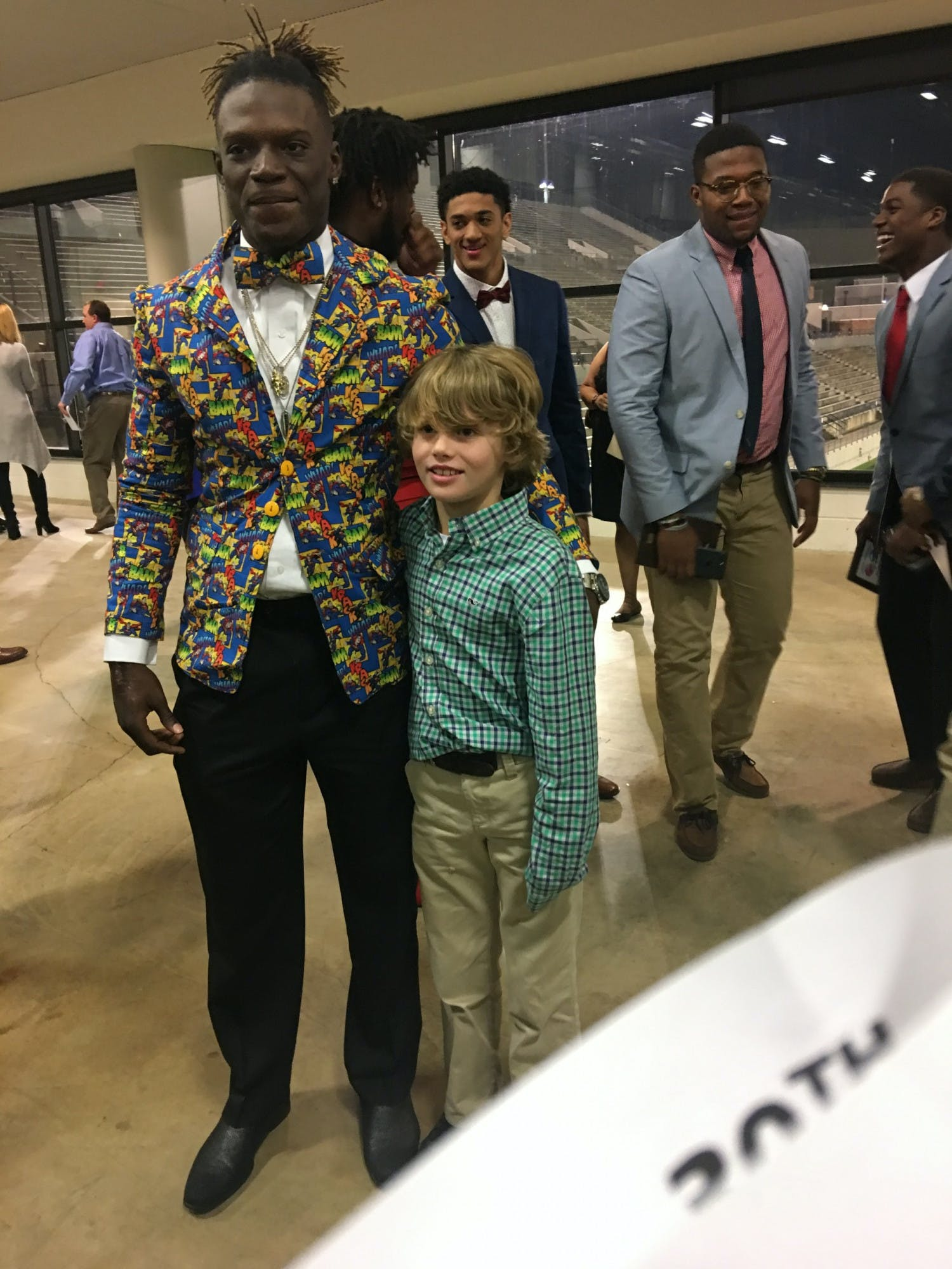Kadarius Toney, superman suit
