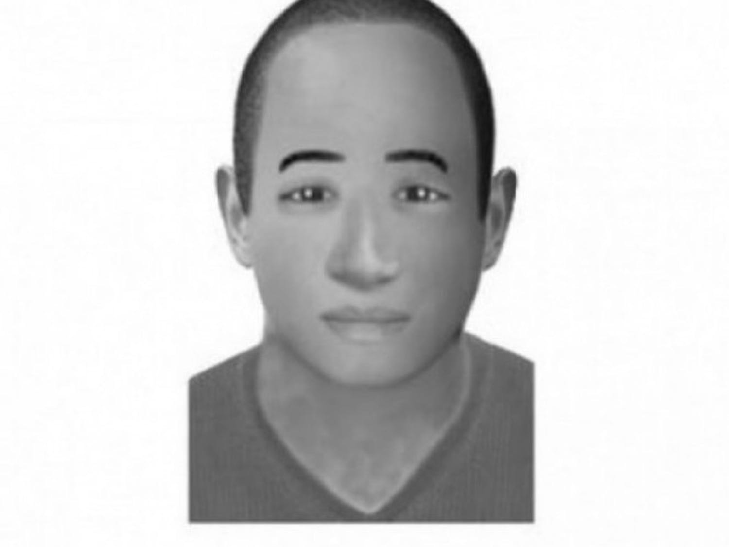 Police provided this composite sketch of the suspect in an attempted sexual assault.