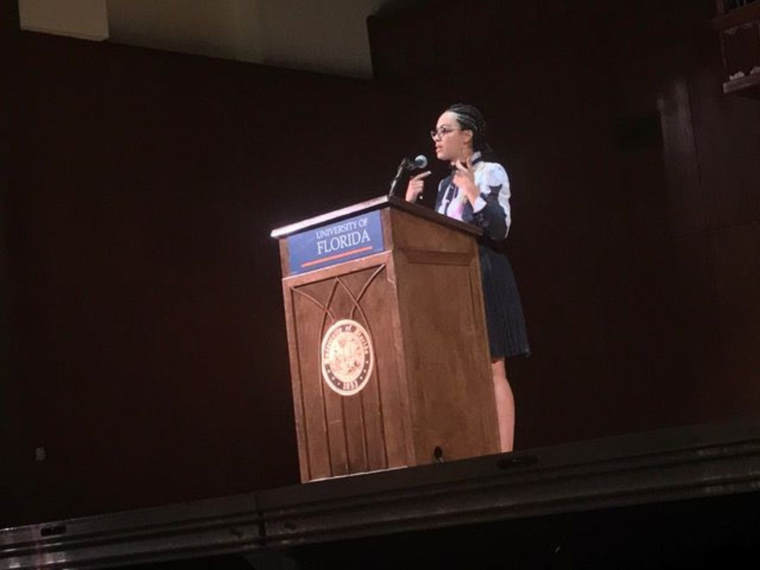 Rye, a liberal political commentator on CNN and an NPR political analyst, was the keynote speaker at Black History Month's Closing Ceremony and Women's History Month's Opening Ceremony on Tuesday.