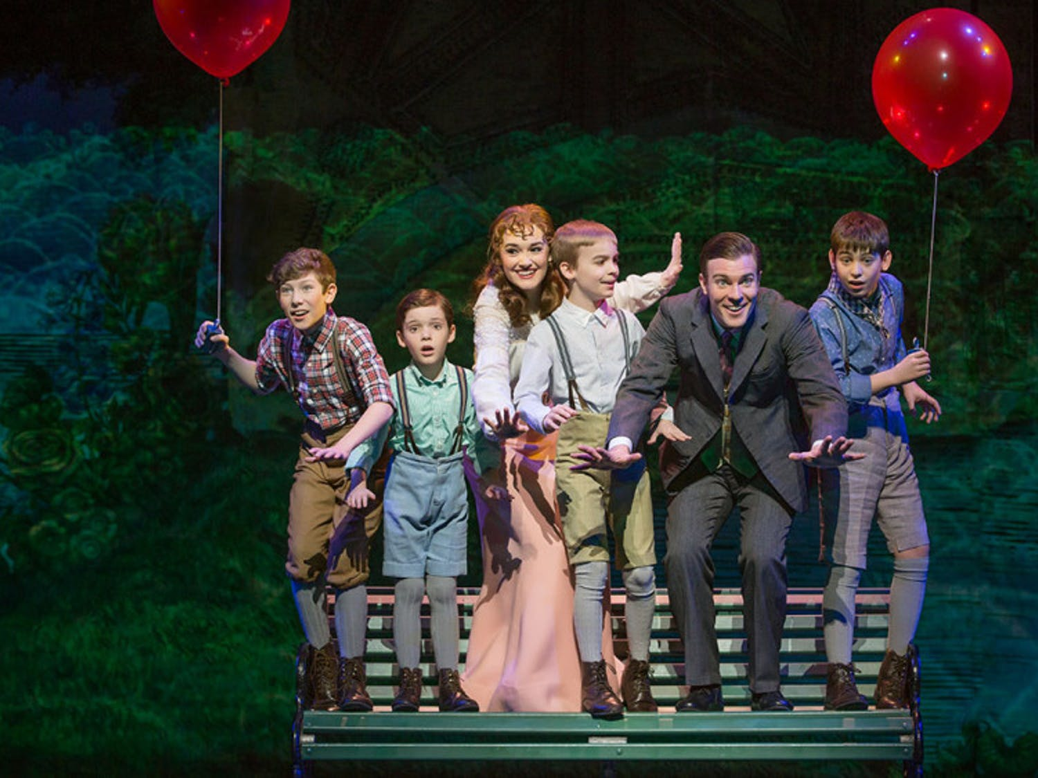 """The Phillips Center for the Performing Arts will present the U.S. National Tour of """"Finding Neverland"""" - amusical, based off true events, about how playwright J.M. Barrie brought his story of Peter Panto life - on Feb. 22 at 7:30 p.m."""