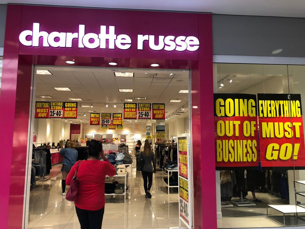 <p>Charlotte Russe, located at 6345 W Newberry Rd. in the Oaks Mall, will close as the company faces bankruptcy. The store will be having a closing sale of 25-40 percent off until all products are sold.</p>